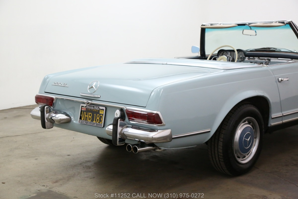 Used 1965 Mercedes-Benz 230SL Pagoda with 2 Tops | Los Angeles, CA