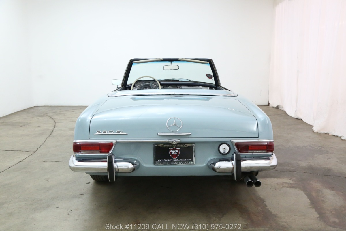 Used 1969 Mercedes-Benz 280SL Pagoda with 2 tops | Los Angeles, CA