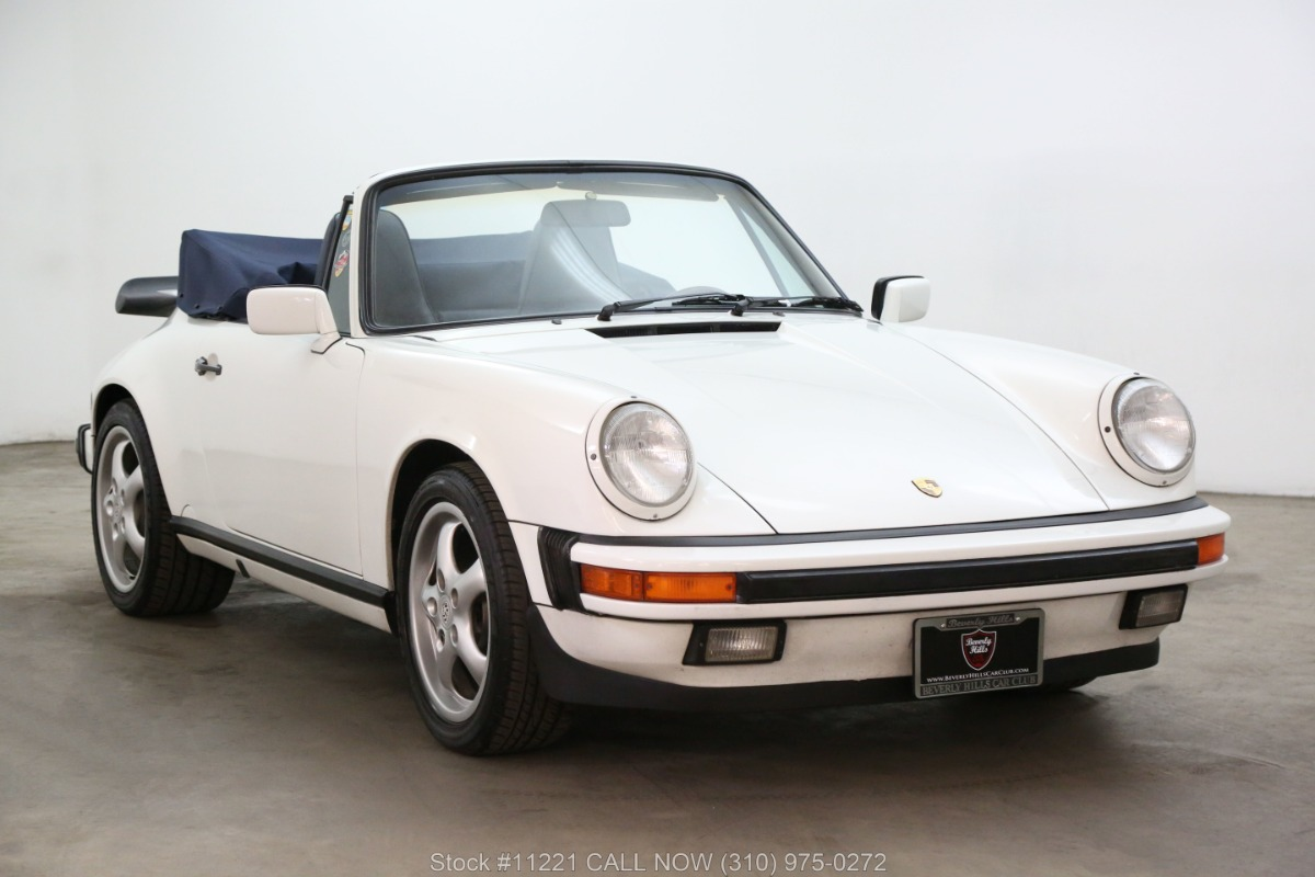 1987 Porsche Carrera Cabriolet