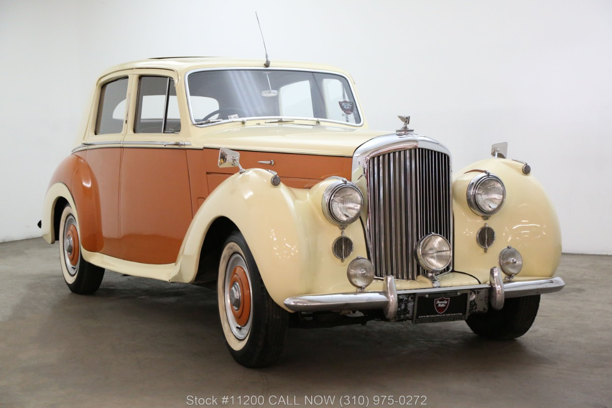 1954 Bentley R-Type Right-Hand Drive