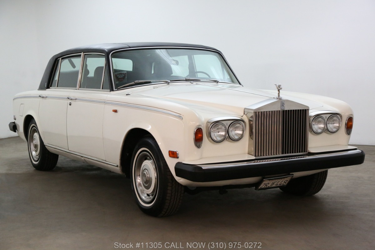 1976 Rolls Royce Silver Shadow Left-Hand Drive