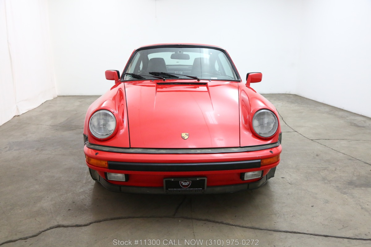 Used 1986 Porsche 930 Turbo Coupe | Los Angeles, CA