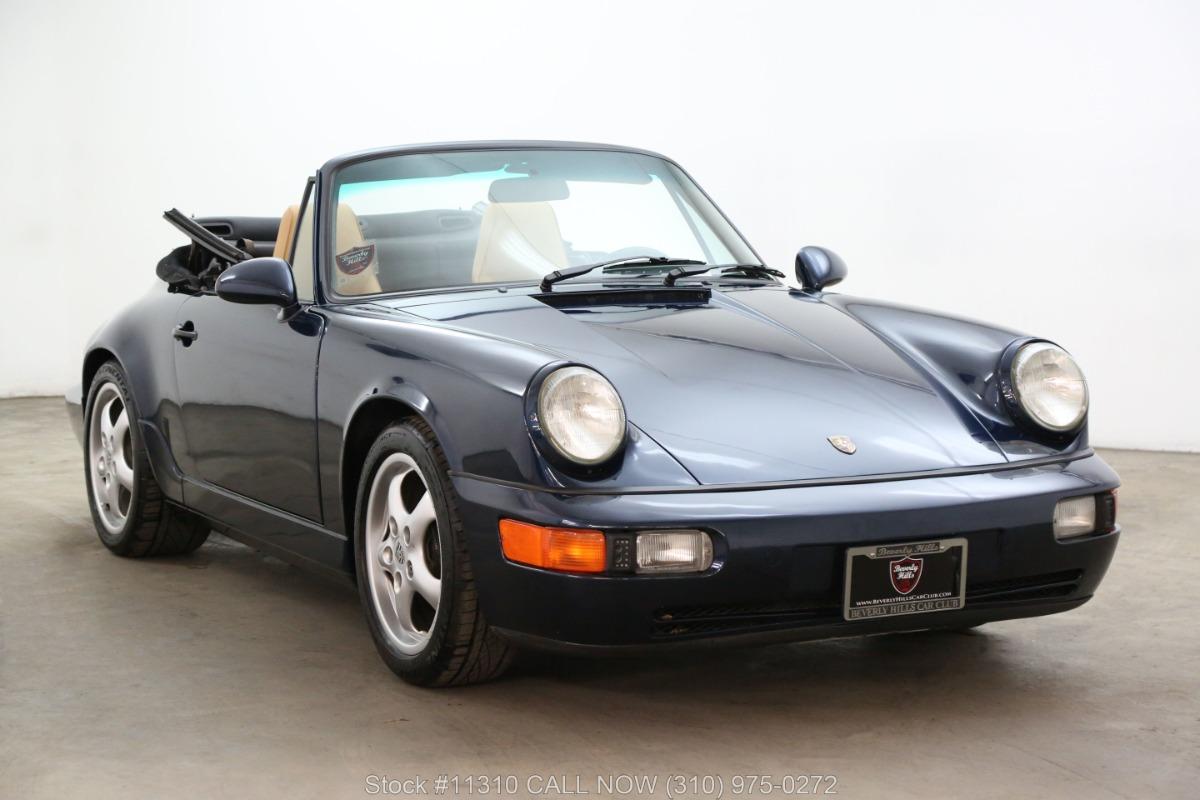 1993 Porsche Carrera 2 Cabriolet