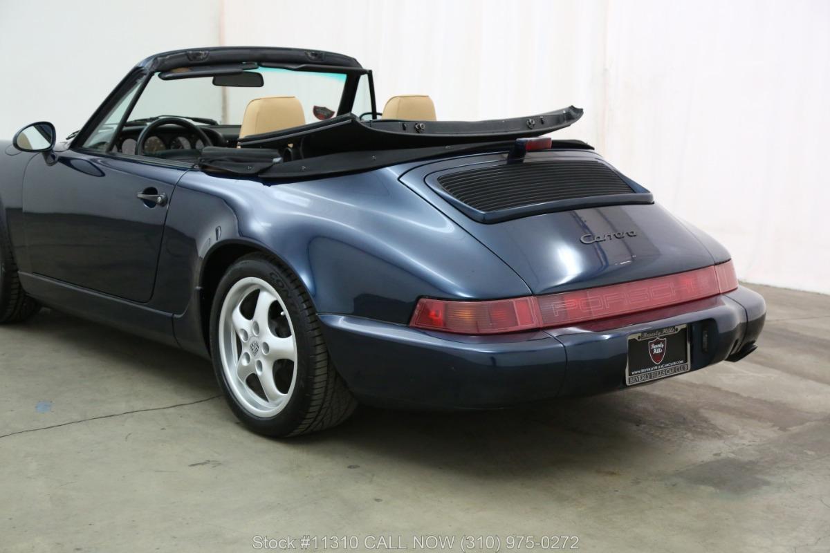 Used 1993 Porsche Carrera 2 Cabriolet | Los Angeles, CA