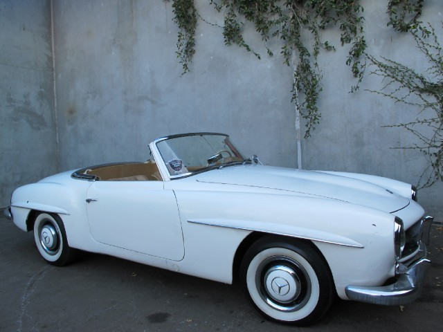 1955 mercedes benz 190sl roadster convertible beverly for 1955 mercedes benz 190sl