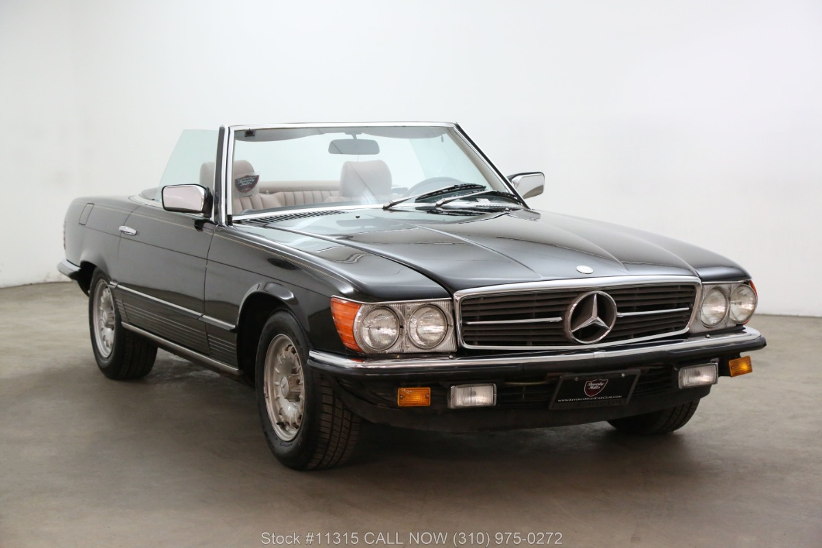 1985 Mercedes-Benz 280SL 5-Speed