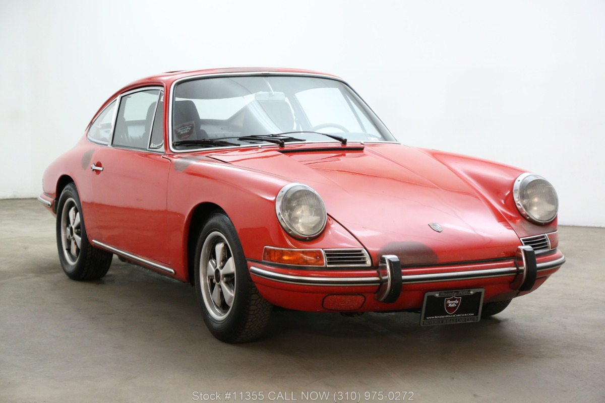 1966 Porsche 912 3 Gage Sunroof Coupe