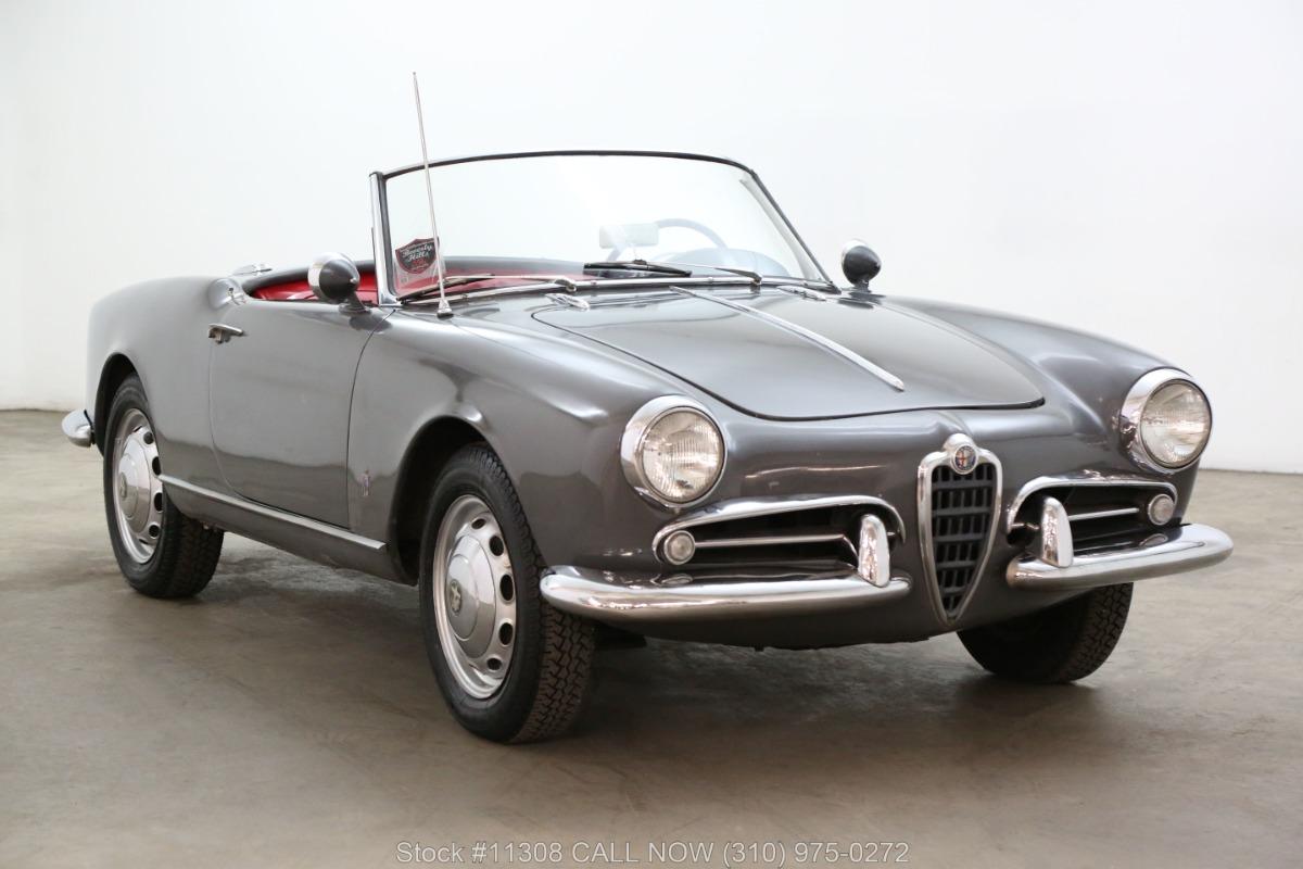 1959 Alfa Romeo Giulietta Veloce Spider