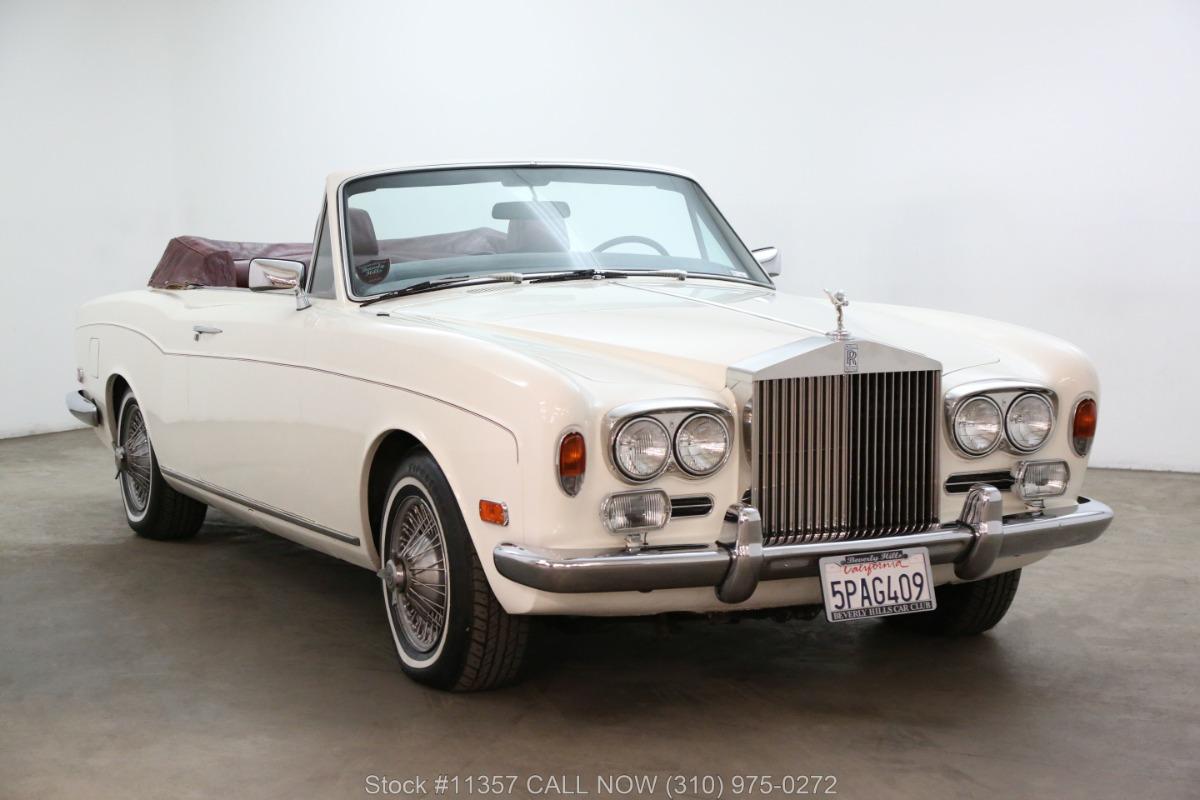 1972 Rolls Royce Corniche Convertible