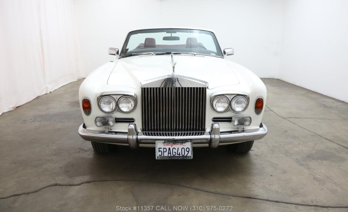 Used 1972 Rolls Royce Corniche Convertible | Los Angeles, CA