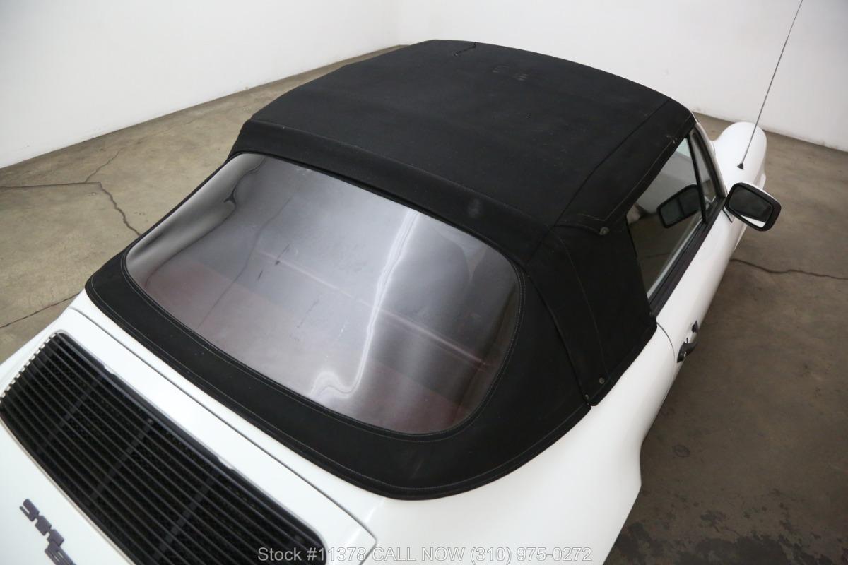 Used 1983 Porsche 911SC Cabriolet | Los Angeles, CA