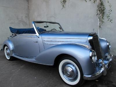 1953 mercedes benz 220a cabriolet for 1953 mercedes benz