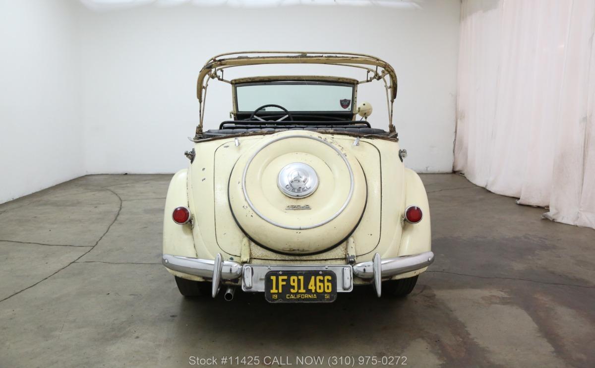 Used 1952 Mercedes-Benz 170DA Cabriolet OTP Police Special | Los Angeles, CA