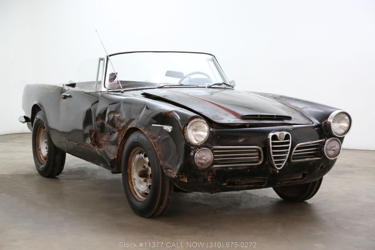 1966 Alfa Romeo 2600 Spider