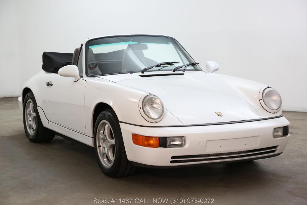 1992 Porsche 964 Cabriolet