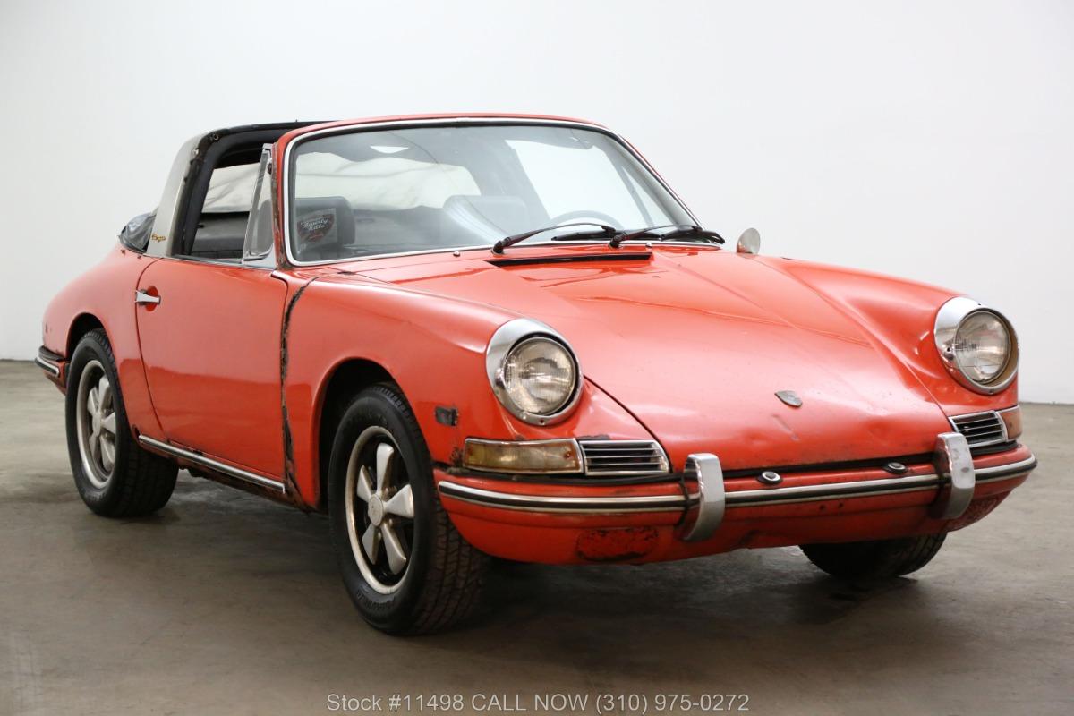 1968 Porsche 911 Soft Window Targa