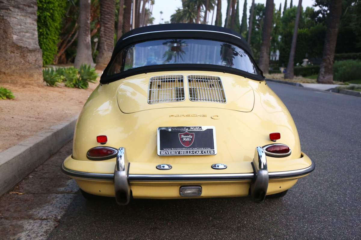 Used 1964 Porsche 356C Cabriolet | Los Angeles, CA