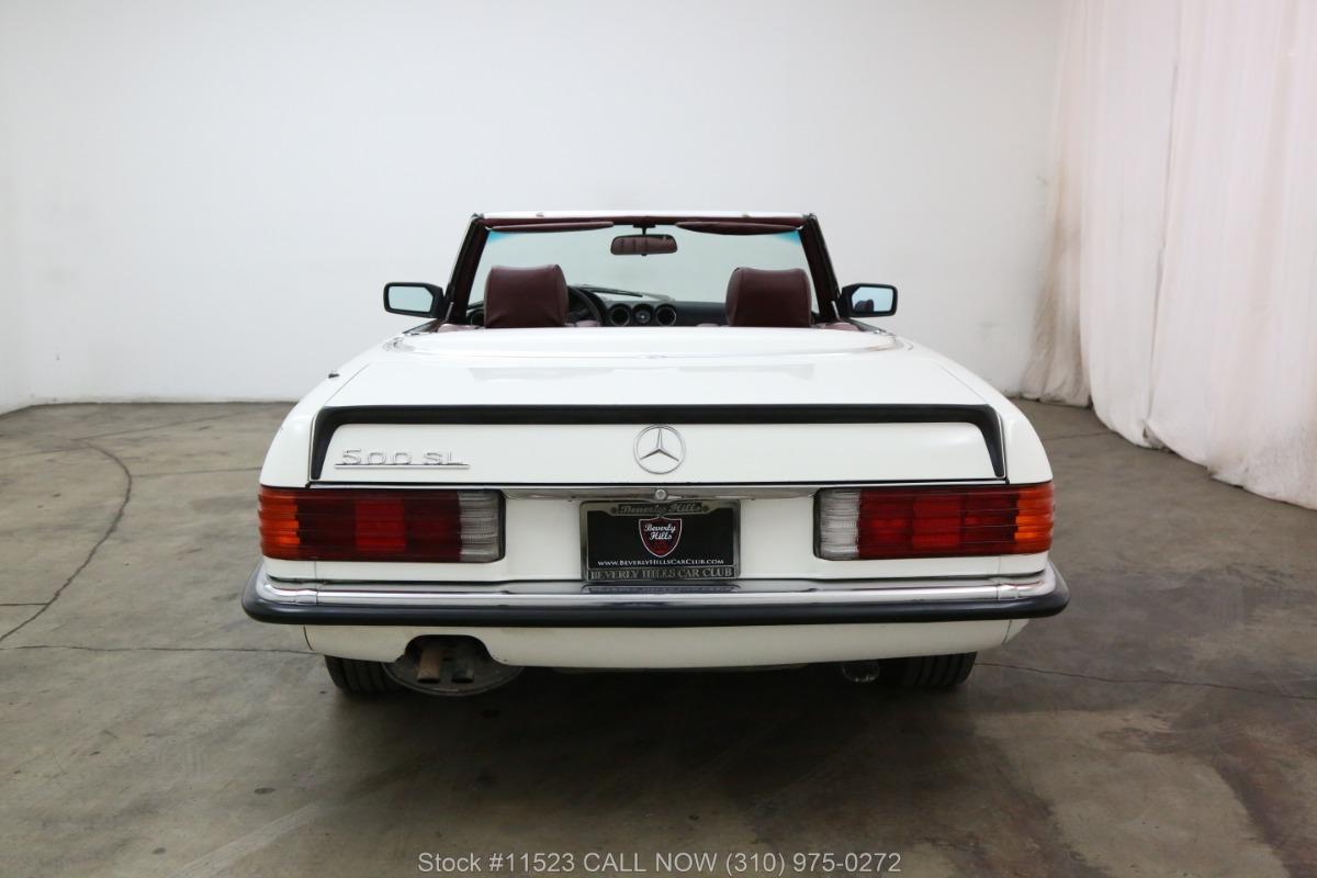 Used 1985 Mercedes-Benz 500SL    Los Angeles, CA