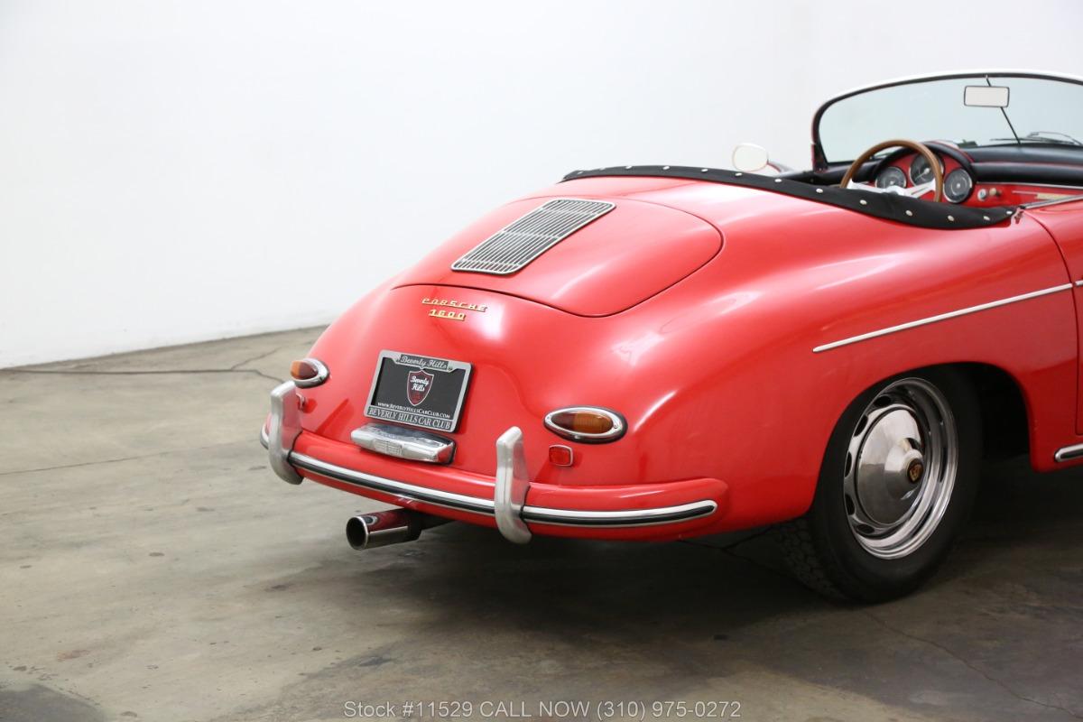 Used 1957 Porsche Speedster Replica By Intermeccanica  | Los Angeles, CA