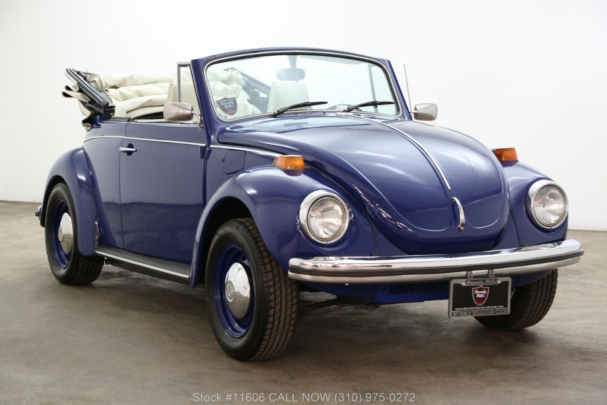 1971 Volkswagen Super Beetle Cabriolet