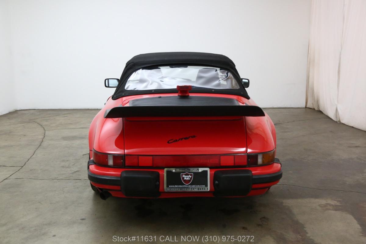 Used 1989 Porsche Carrera Cabriolet | Los Angeles, CA