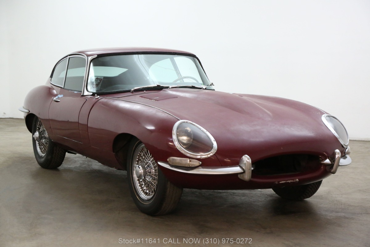 1962 Jaguar XKE Fixed Head Coupe