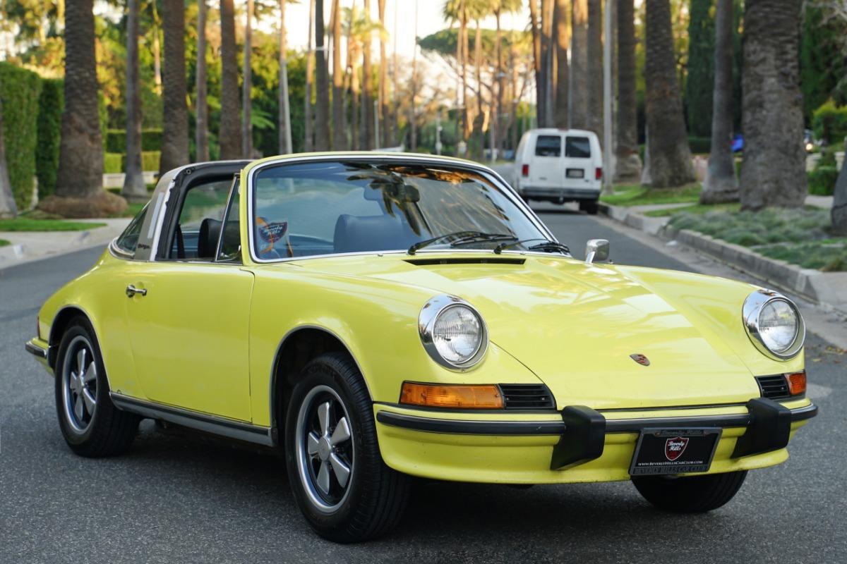 1973 Porsche 911E Targa (Original Paint)