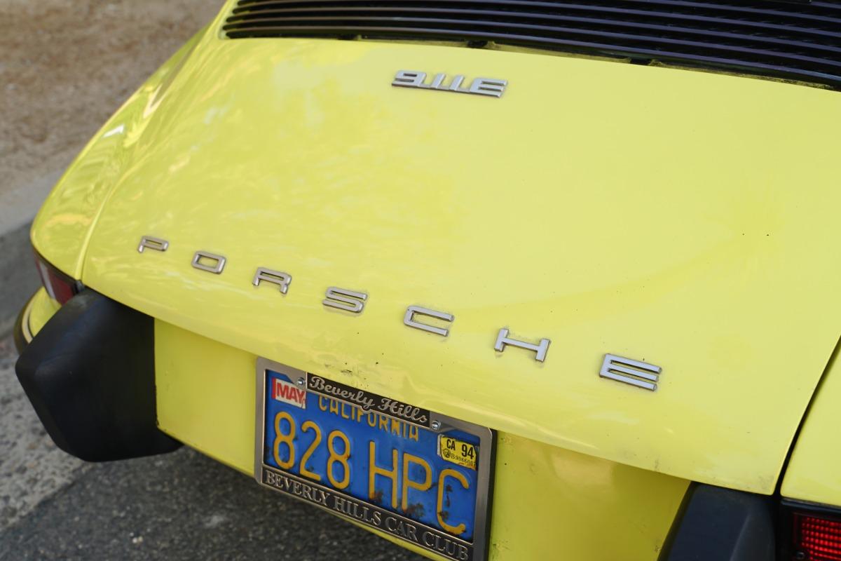 Used 1973 Porsche 911E Targa (Original Paint) | Los Angeles, CA