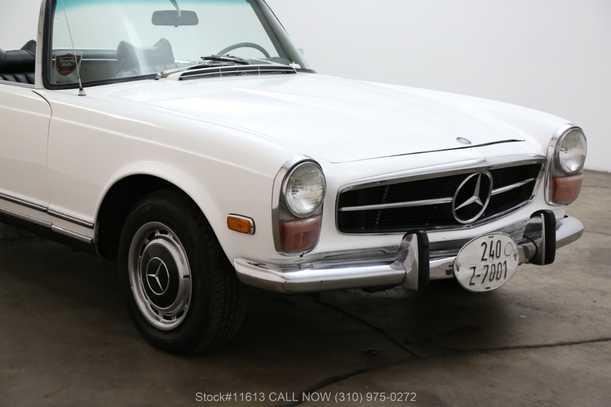 Used 1971 Mercedes-Benz 280SL Pagoda with 2 Tops | Los Angeles, CA