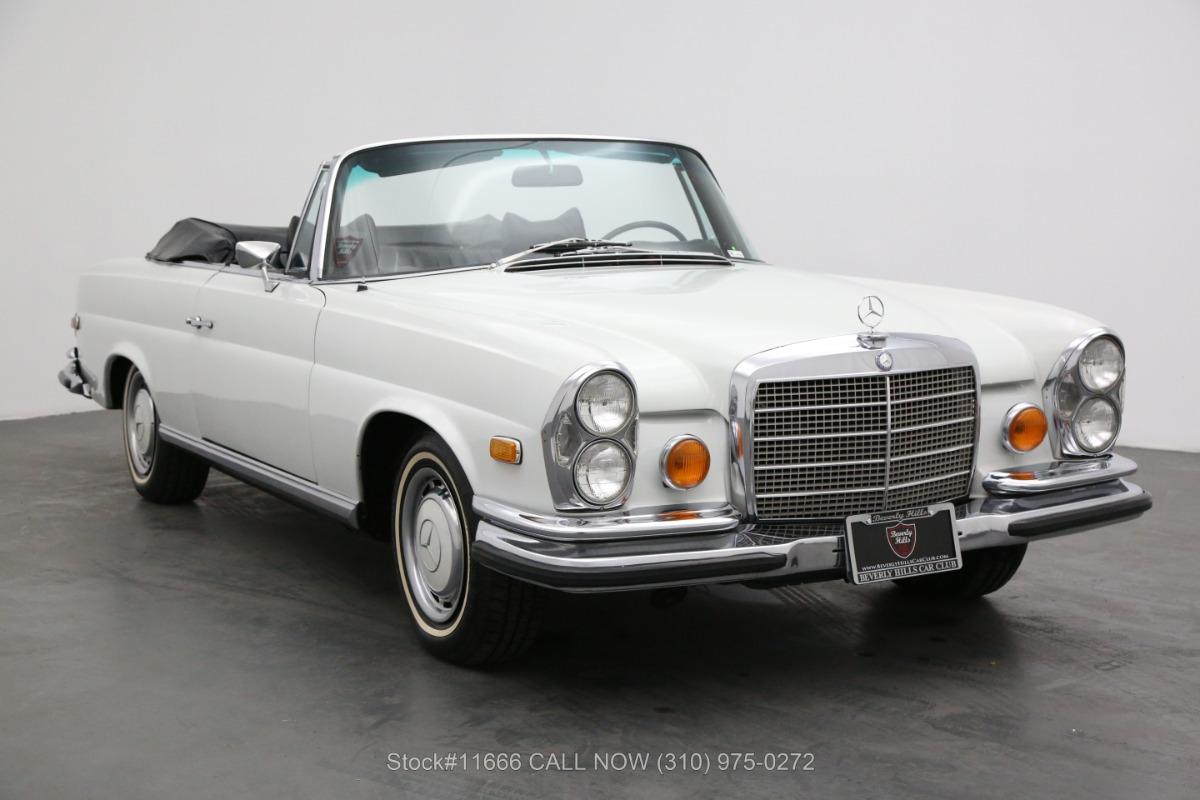 1970 Mercedes-Benz 280SE Low Grille Cabriolet