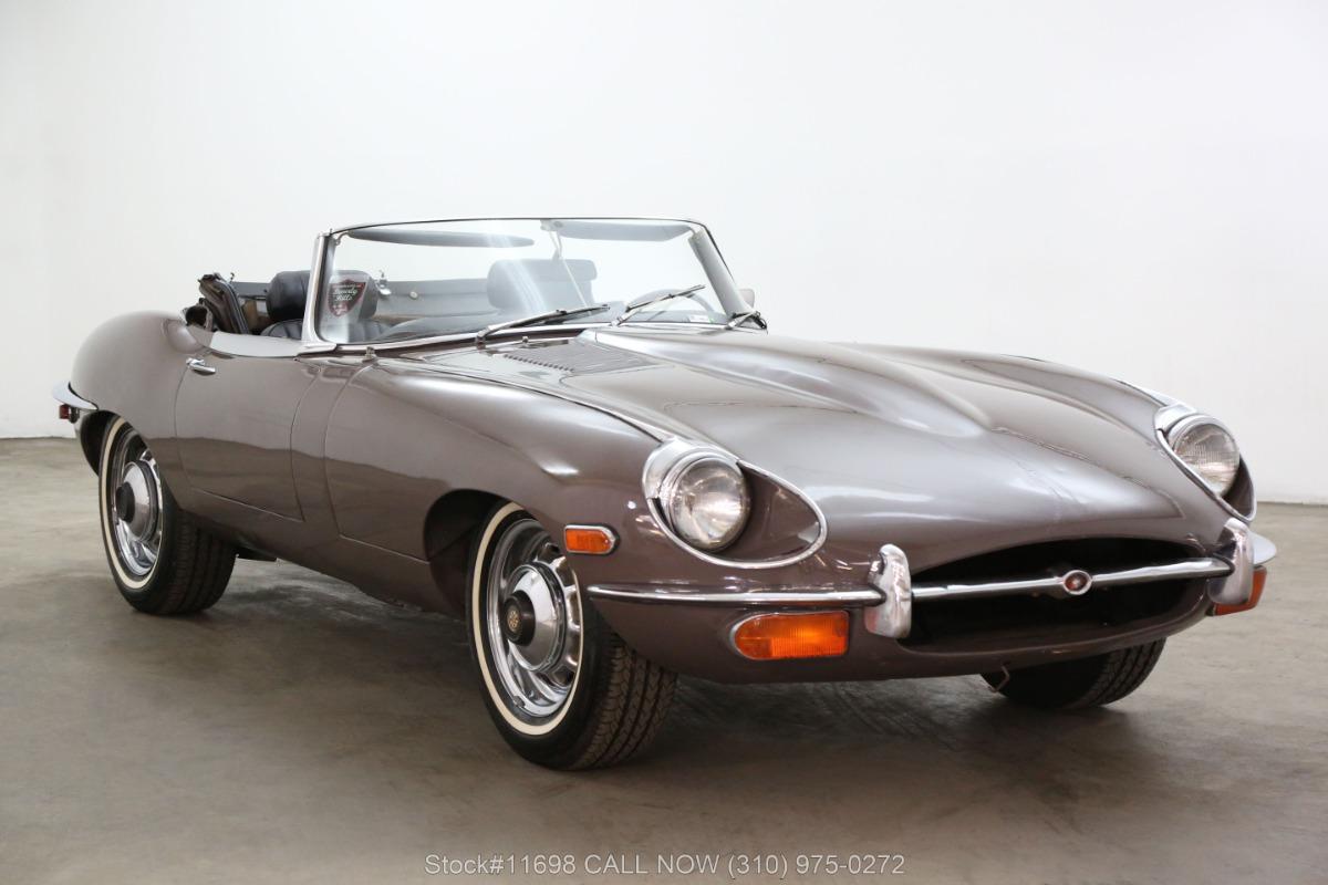 1969 Jaguar XKE Roadster with 2 Tops