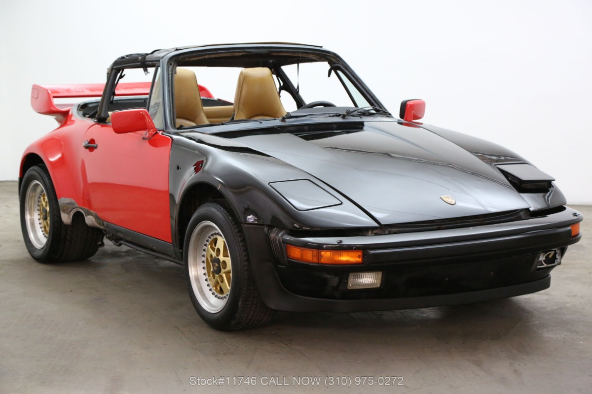 1984 Porsche Carrera Targa Cabriolet Slant Nose Conversion