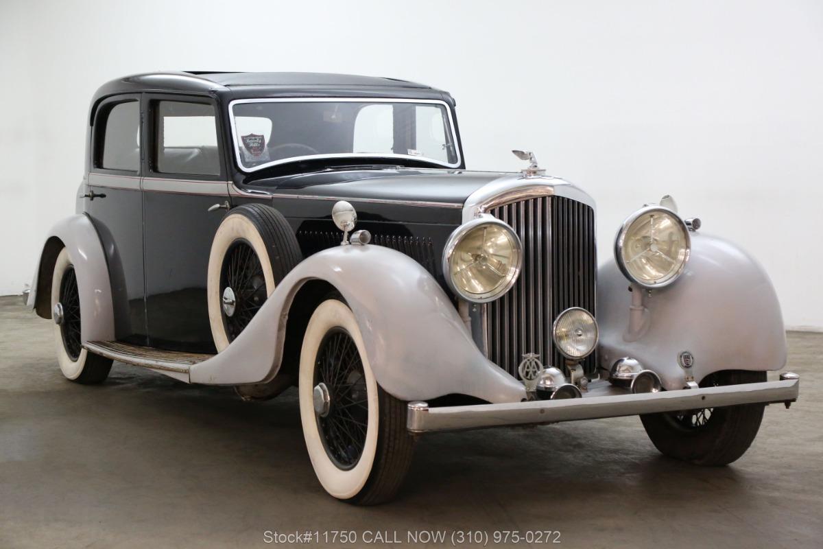 1935 Bentley Derby 3 1/2 Liter Right-Hand Drive