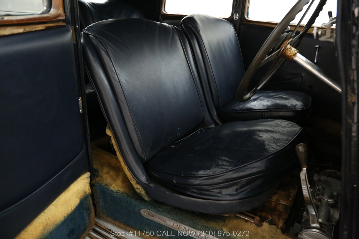 Used 1935 Bentley Derby 3 1/2 Liter Right-Hand Drive  | Los Angeles, CA