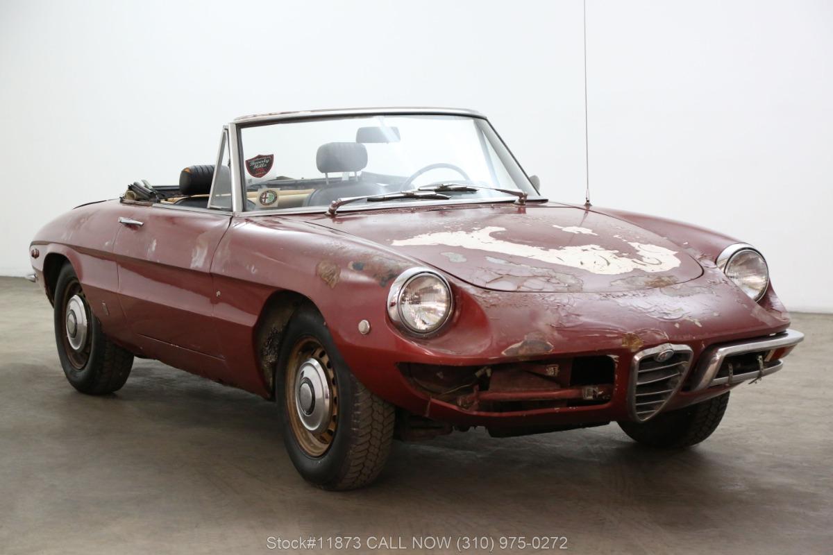 1969 Alfa Romeo Duetto 1750 Veloce Spider