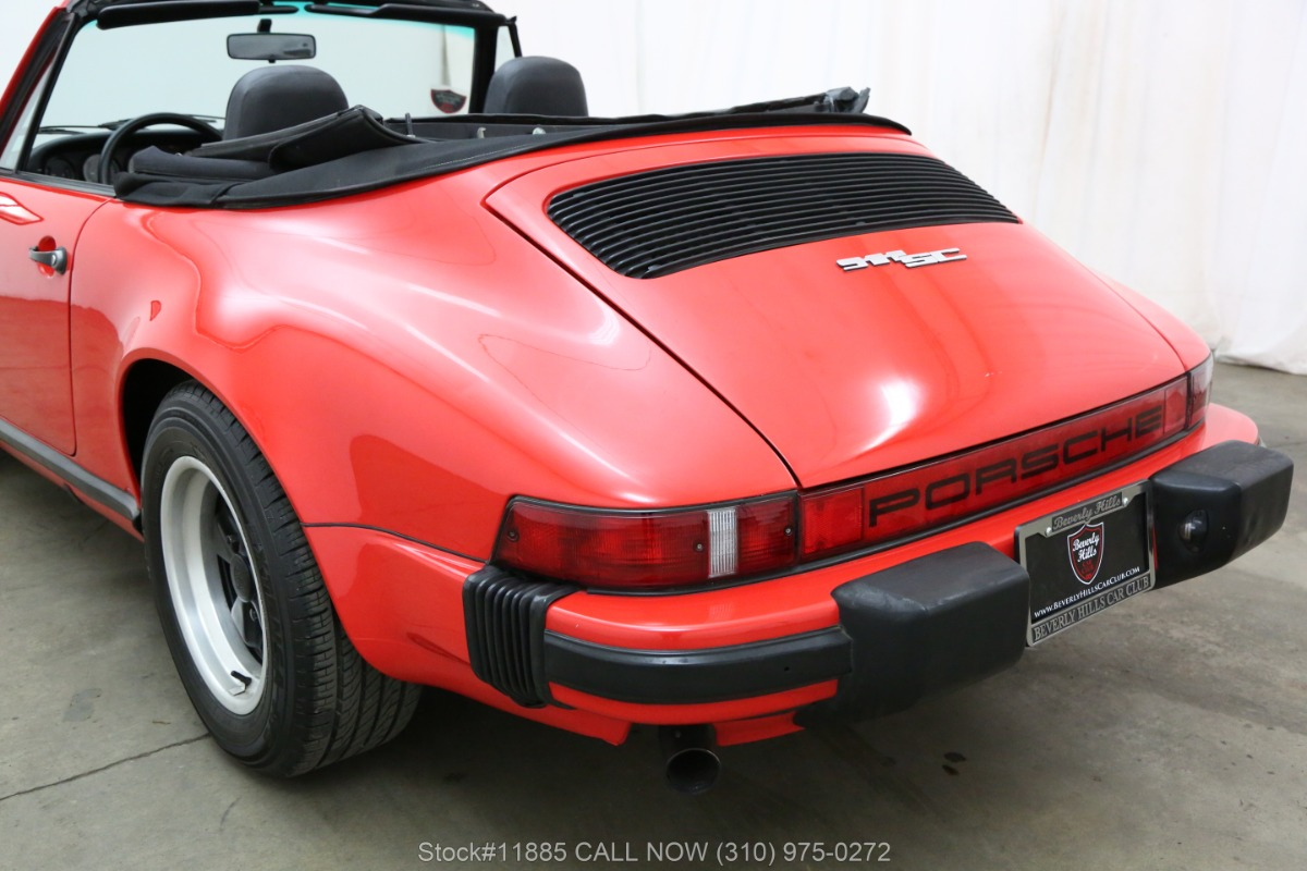 Used 1983 Porsche 911SC Cabriolet | Los Angeles, CA