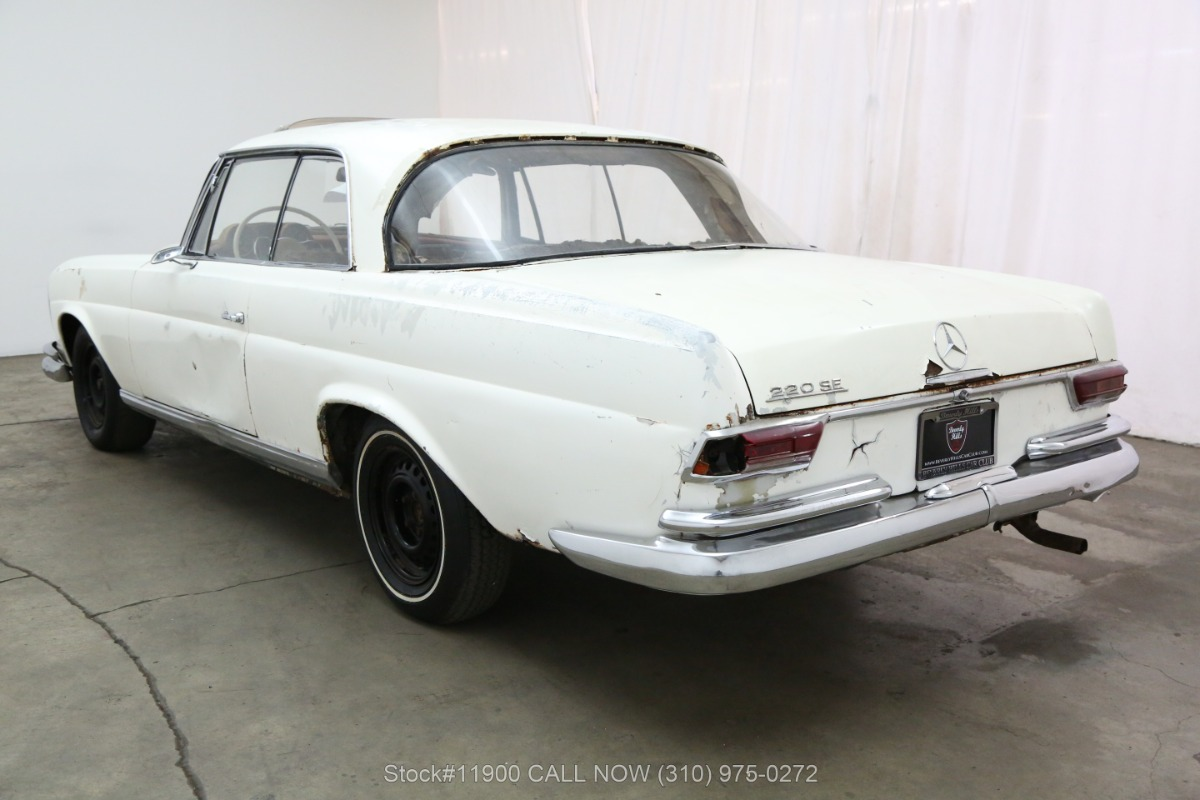 Used 1965 Mercedes-Benz 220SE Sunroof Coupe | Los Angeles, CA