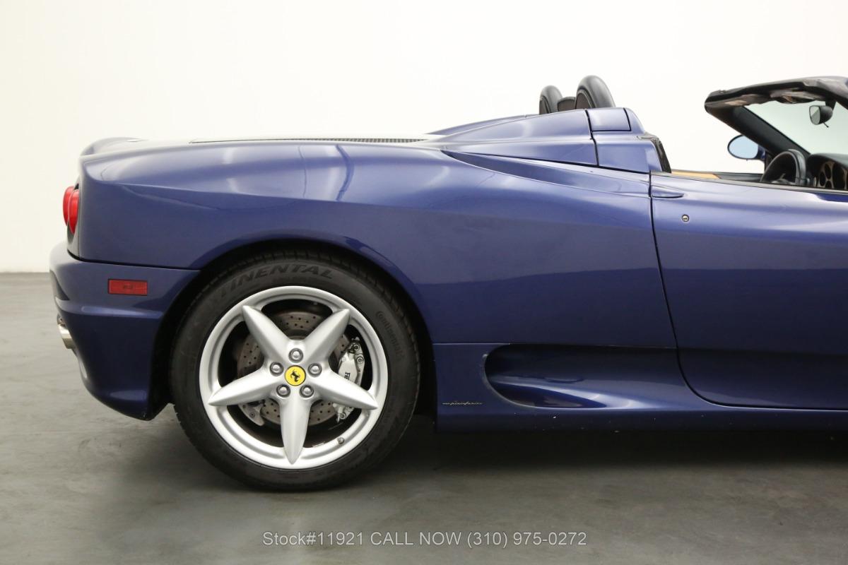 Used 2002 Ferrari 360 Spider F1    Los Angeles, CA