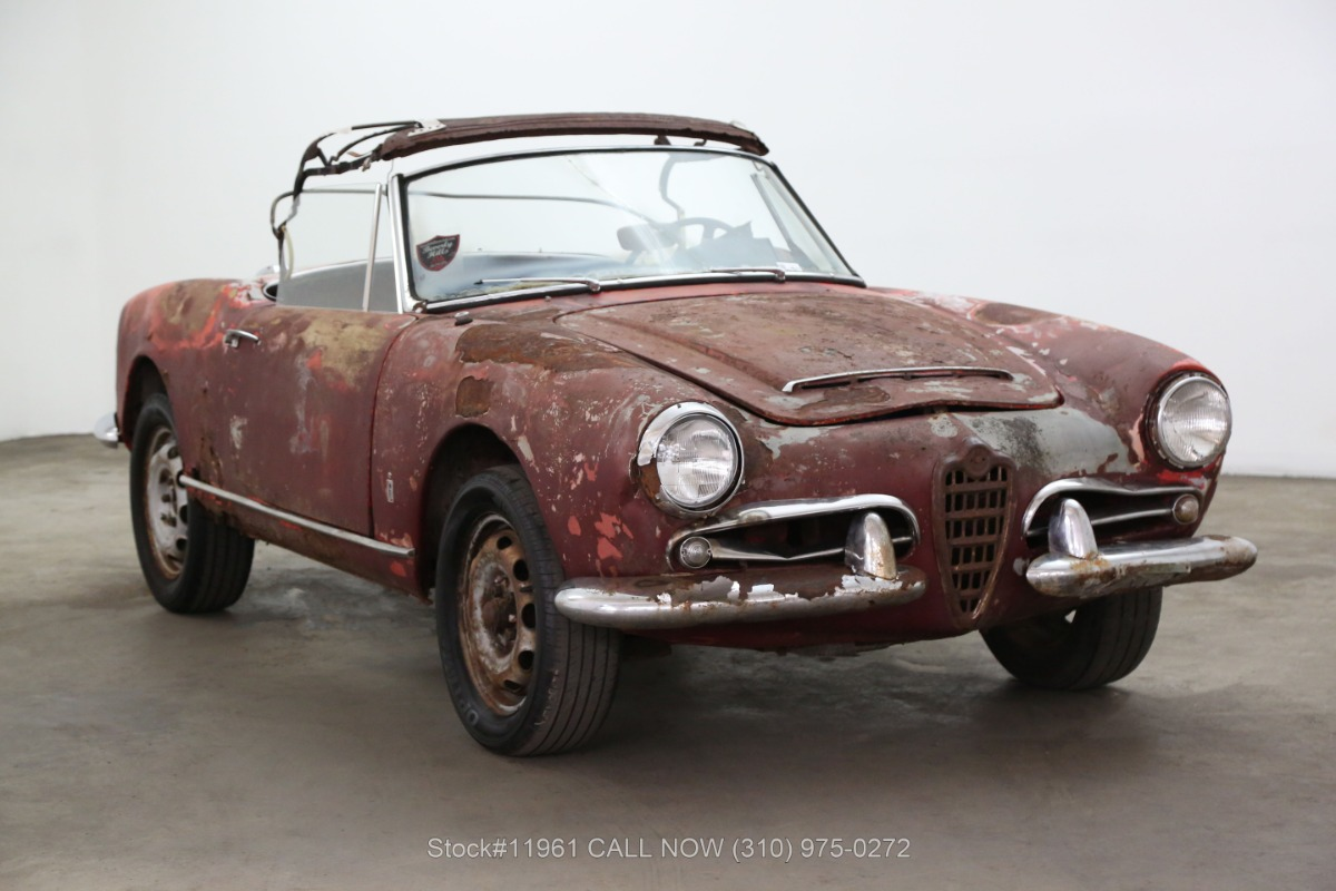 Used 1961 Alfa Romeo Giulia 1600 Spider  | Los Angeles, CA