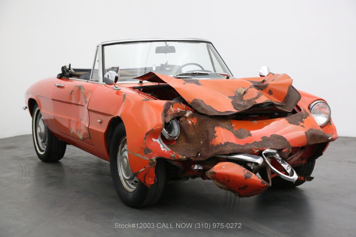 1967 Alfa Romeo Giulia Spider Duetto