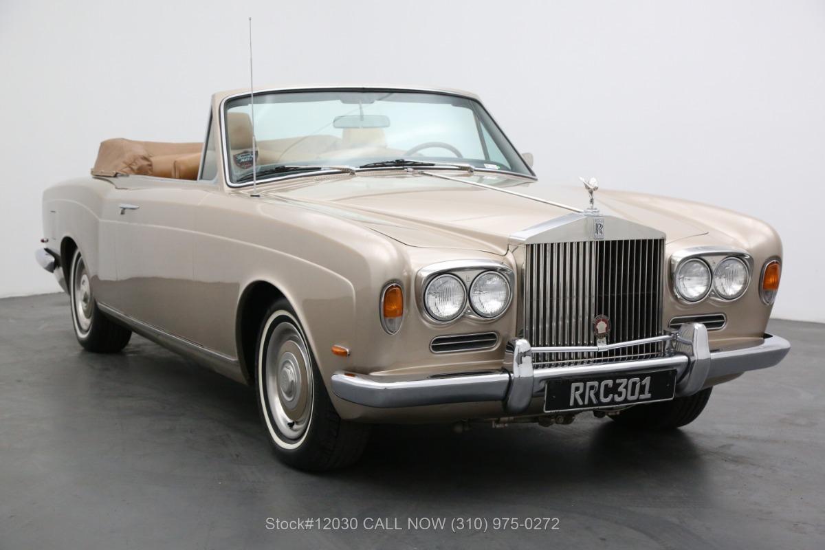 1969 Rolls Royce Silver Shadow Coachwork By H.J Mulliner, Park Ward Limited Drophead