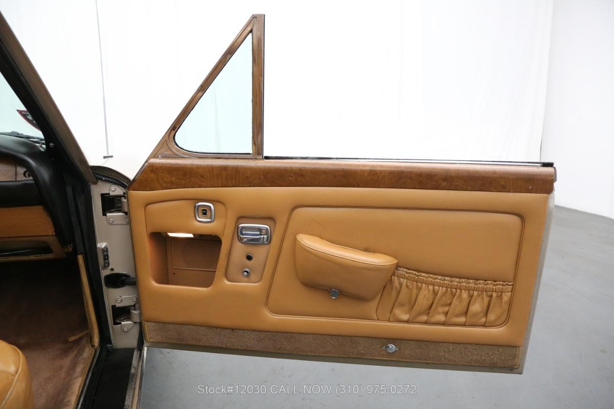 Used 1969 Rolls Royce Silver Shadow Coachwork By H.J Mulliner, Park Ward Limited Drophead   Los Angeles, CA