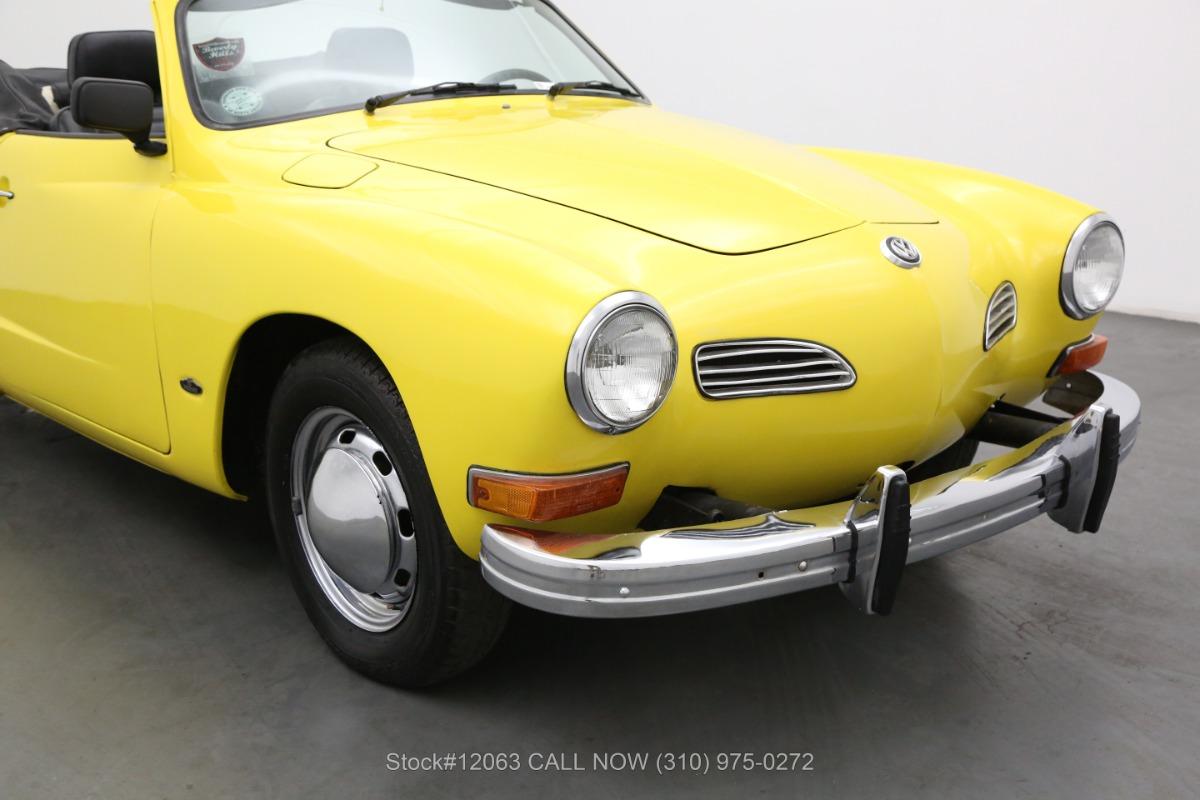 Used 1973 Volkswagen Karmann Ghia Convertible | Los Angeles, CA