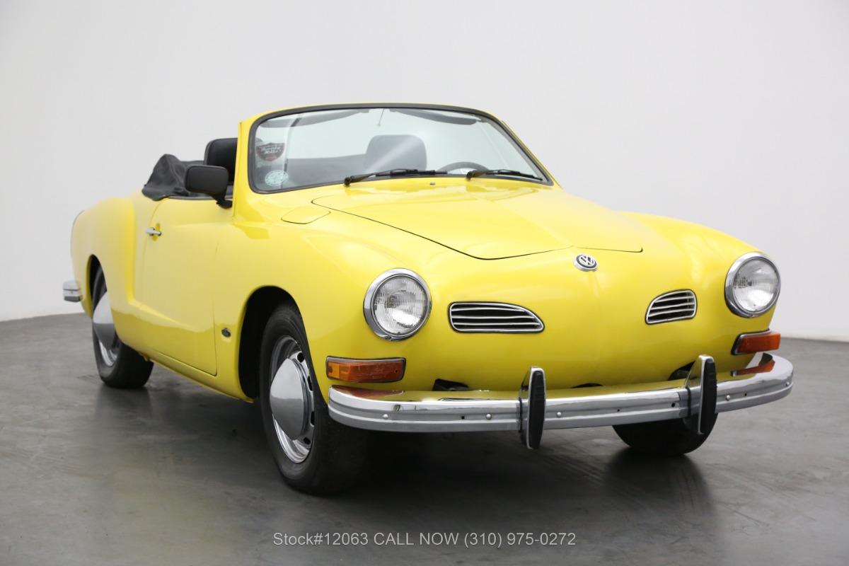 1973 Volkswagen Karmann Ghia Convertible Beverly Hills Car Club