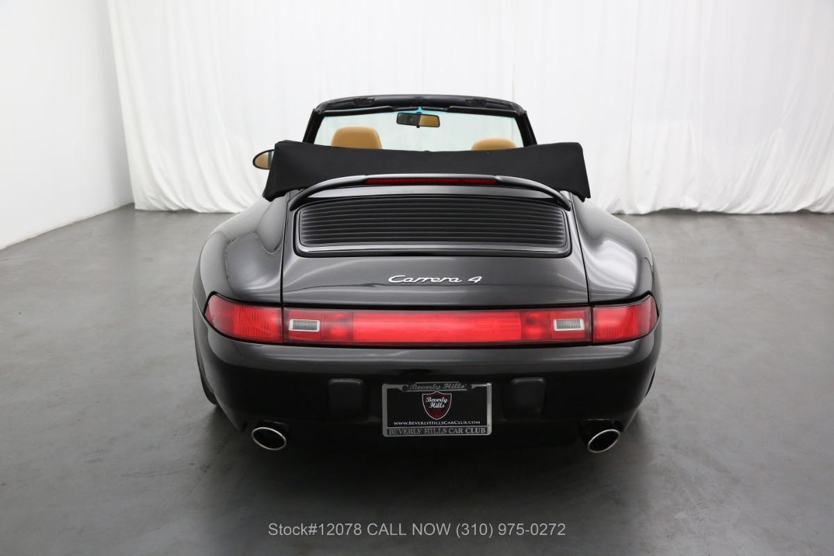 Used 1995 Porsche 993 Cabriolet   Los Angeles, CA