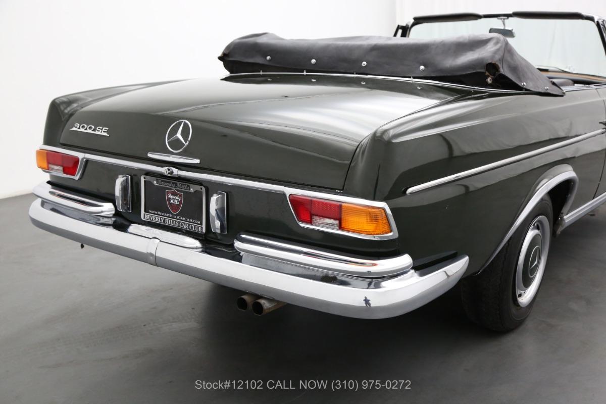 Used 1966 Mercedes-Benz 300SE Cabriolet | Los Angeles, CA