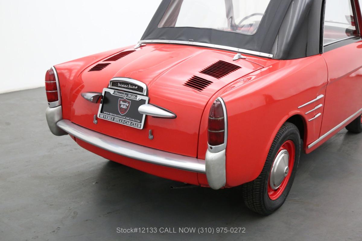 Used 1960 Autobianchi Bianchina Trasformabile  | Los Angeles, CA