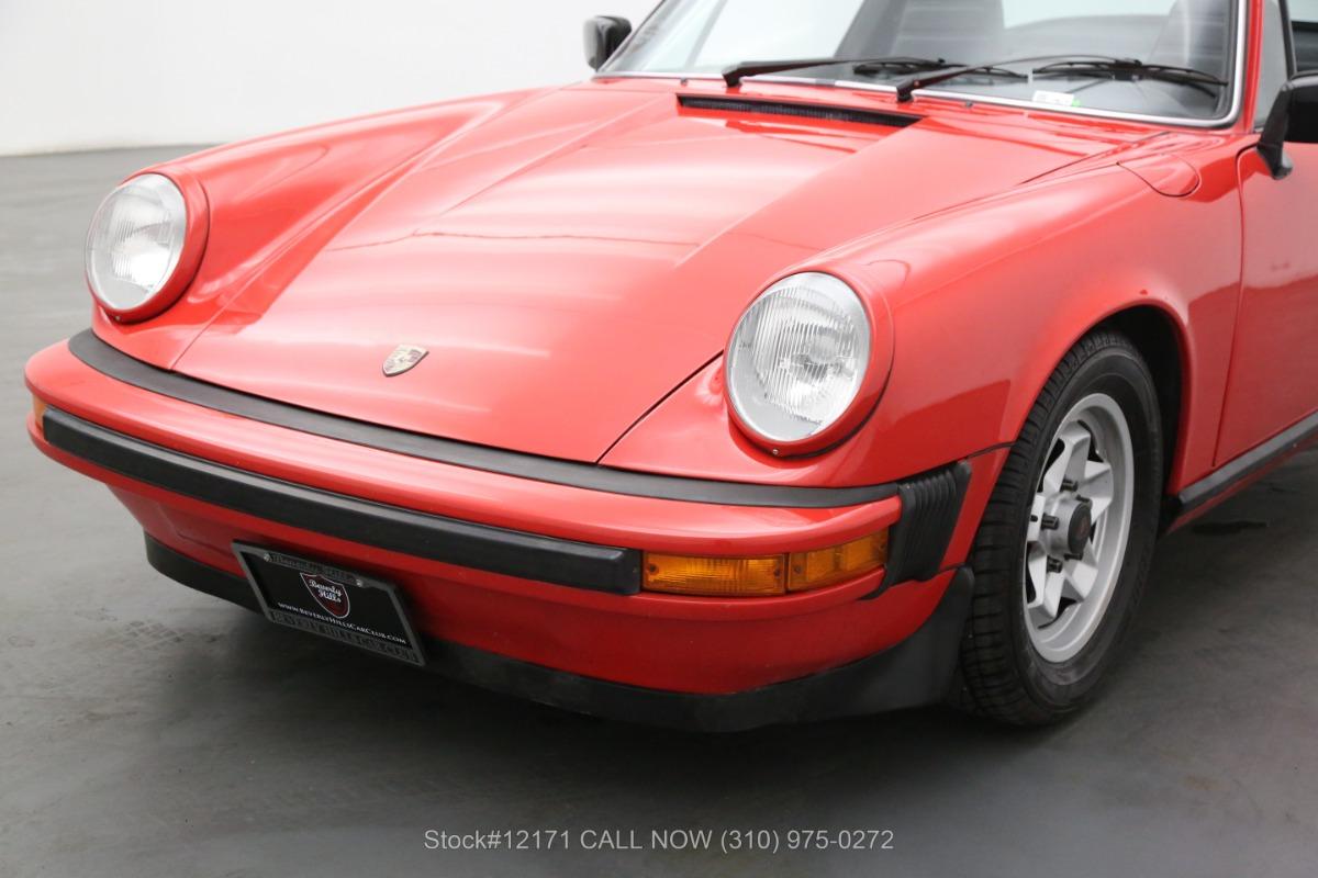 Used 1980 Porsche 911SC Targa   Los Angeles, CA
