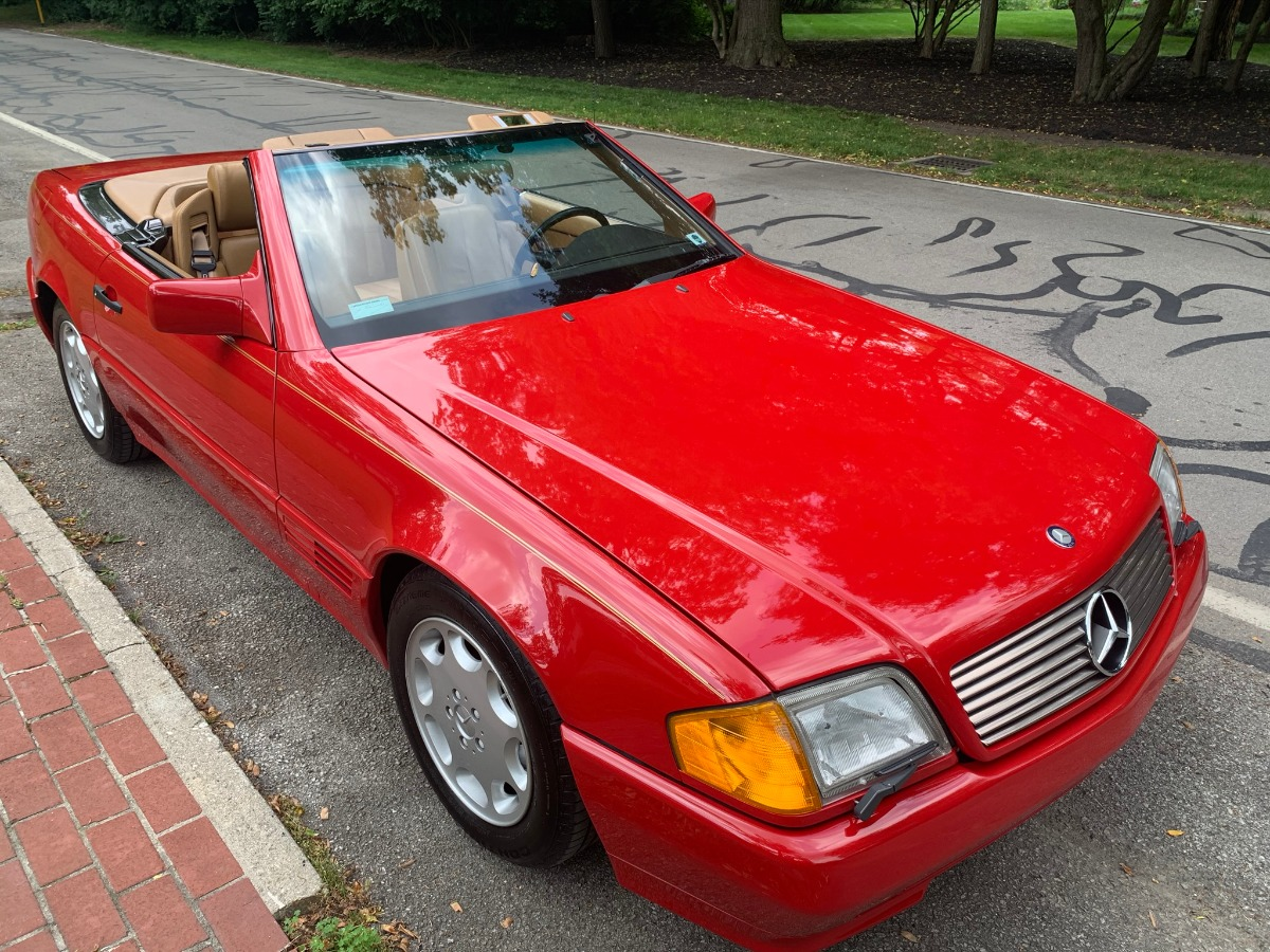 1990 Mercedes-Benz 300SL 5-Speed