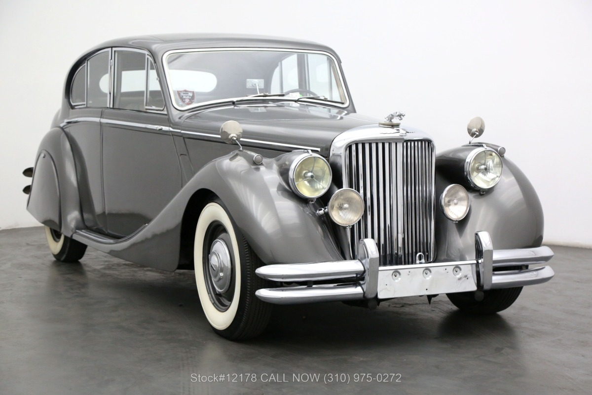 1951 Jaguar Mark V Saloon 3.5-Liter ​Left-Hand Drive